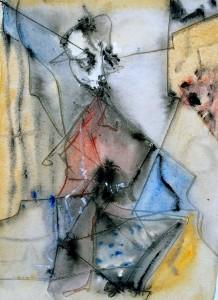 Patrick Vernon: Ohne Titel, 33,0 x 24,5, Bleistift, Tusche, Gouache und Aquarell auf Papier