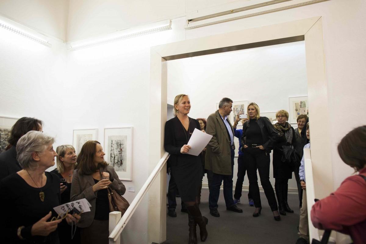 """Vernissage """"Je suis parti faire un tour"""", 1. Oktober 2013"""